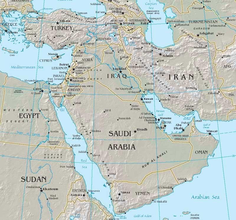 Peering Ahead In The Middle East Arab Digest